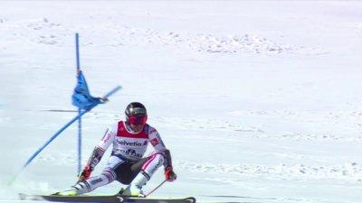 Cortina 2021 – Slalom géant hommes : Démarrage convaincant pour Mathieu Faivre