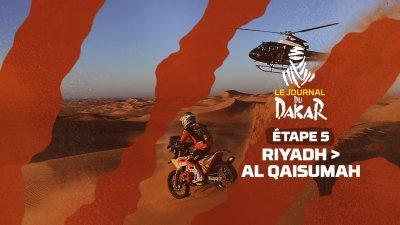 Le journal du Dakar de l'étape 5