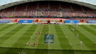 Champions Cup - 1/8e de finale : le résumé de Munster vs Stade toulousain