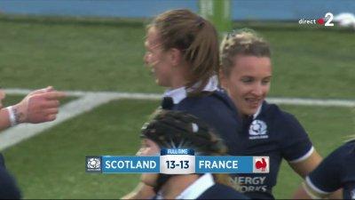 L'Écosse et la France se séparent sur un match nul