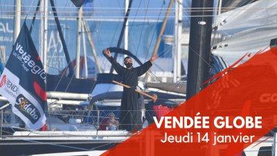 Journal du Vendée Globe : Jeudi 14 janvier