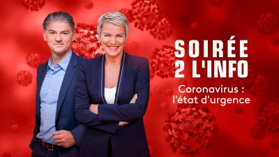 Envoyé spécial Soirée 2 l'info - Coronavirus : l'état d'urgence