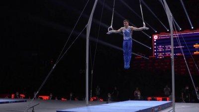 Championnats d'Europe de gymnastique artistique : le Russe Nagornyy déroule aux anneaux