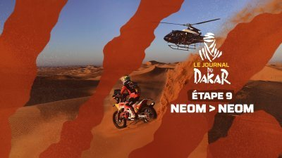 Le journal du Dakar de l'étape 9