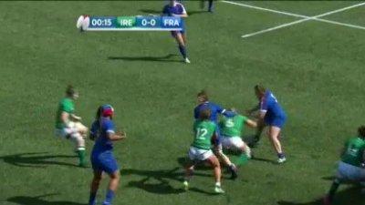6 Nations féminin - 3ème journée : le résumé de Irlande vs France