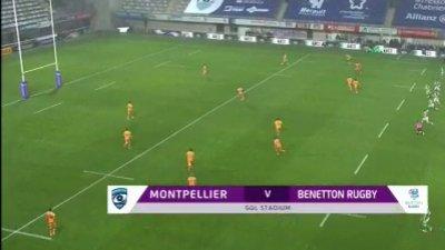 Le résumé de Montpellier Rugby vs Benetton Trévise