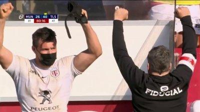 L'exploit de Toulouse qui élimine le Munster de la compétition