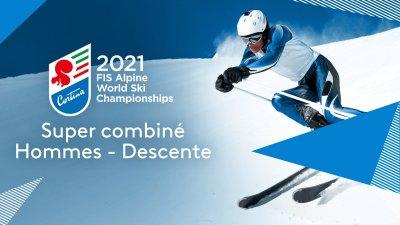 Championnats du monde de ski alpin : Combiné hommes descente