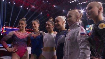 Championnats d'Europe de gymnastique artistique : le résumé du concours général féminin