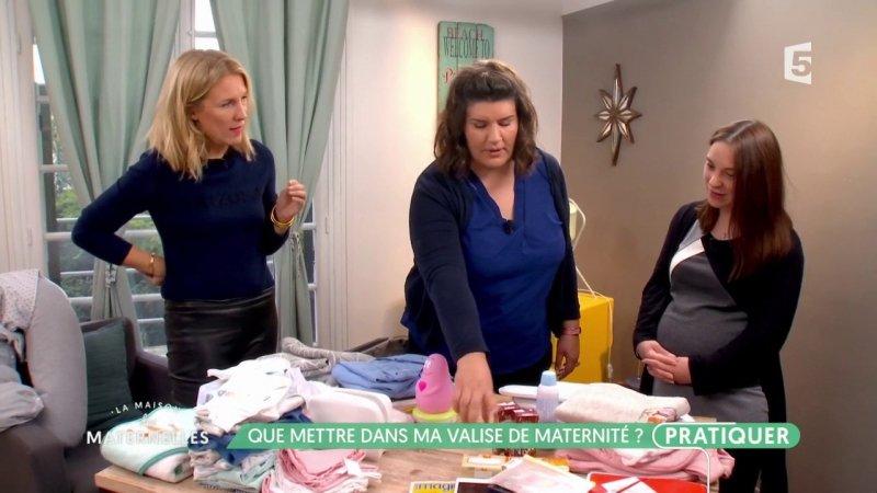 Valise de maternit on vous fait la liste compl te france 5 27 09 2017 - France 5 ca vous ...