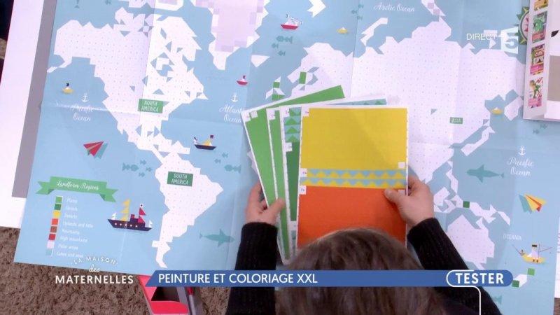 Replay la maison des maternelles la maison des maternelles peinture et coloriage xxl du france 5 - La maison de france 5 replay ...