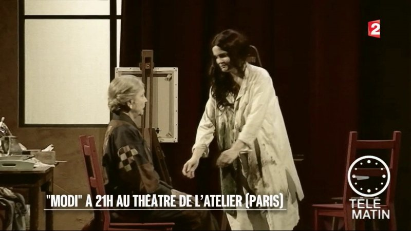 Replay t l matin t l matin spectacle modi du france 2 for Telematin theatre