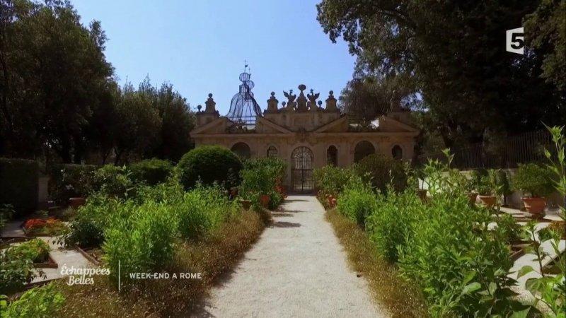 Les jardins de la villa borgh se france 5 16 09 2017 for Les jardins de la villa