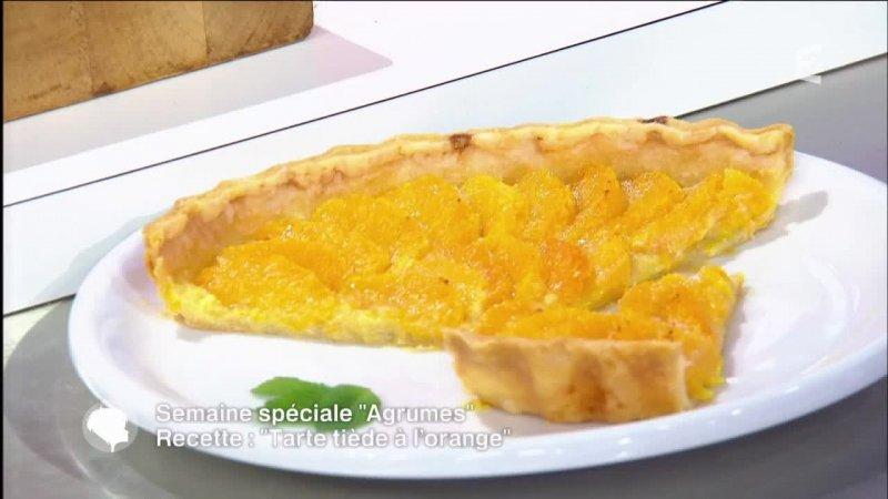 Cuisine recette de tarte ti de l 39 orange france 2 13 05 2016 - France 2 telematin recette cuisine ...