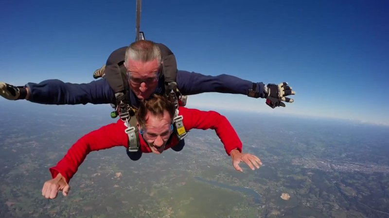 parachutisme correze