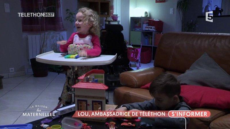 Replay la maison des maternelles la maison des maternelles lou ambassadrice du t l thon du - La maison de france 5 replay ...