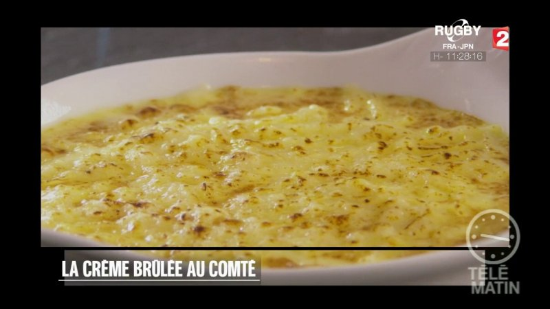 Replay t l matin t l matin gourmand la cr me br l e au - Telematin recettes cuisine carinne teyssandier ...