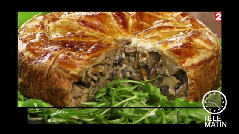 Replay t l matin t l matin gourmand tourte aux champignons du france 2 - Recette cuisine france 2 telematin ...