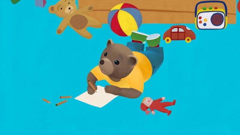Replay petit ours brun la carte postale france 5 - Petit ours brun a la mer ...