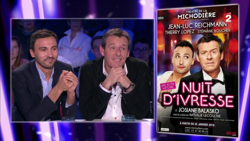 Replay on n 39 est pas couch on n 39 est pas couch jean luc reichmann thierry lopez du france 2 - Antenne 2 on est pas couche replay ...
