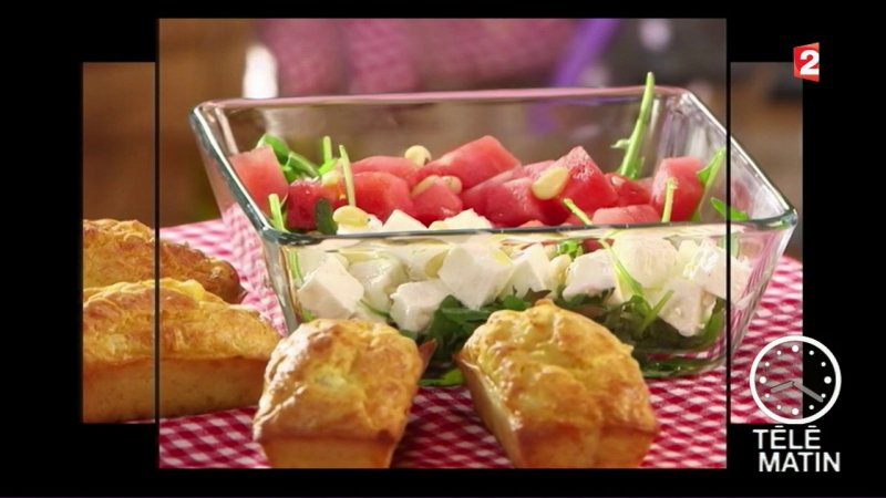 Gourmand g teau de crabe france 2 28 07 2017 - Telematin cuisine carinne teyssandier ...