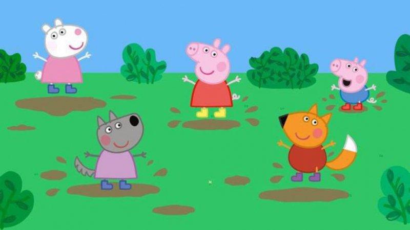 Replay Peppa Pig, Peppa Pig Les Bottes Dorées Du FRANCE 5