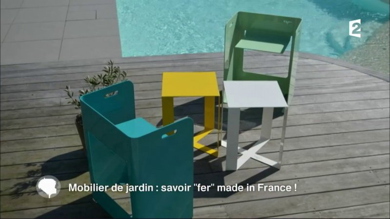 Mobilier de jardin : le savoir-« fer » made in France en streaming ...
