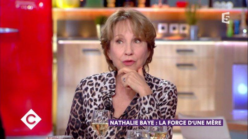Nathalie baye au d ner c vous 30 11 2017 france 5 30 11 2017 - France 5 ca vous ...