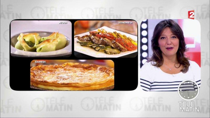 Gourmand galette jurassienne france 2 16 09 2017 - Telematin recettes cuisine carinne teyssandier ...