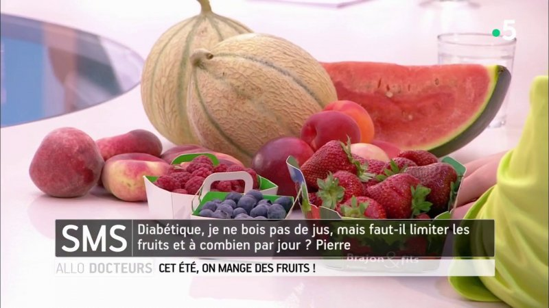 Replay all docteurs cet t on mange des fruits france 5 - Allo docteur france 5 recettes ...