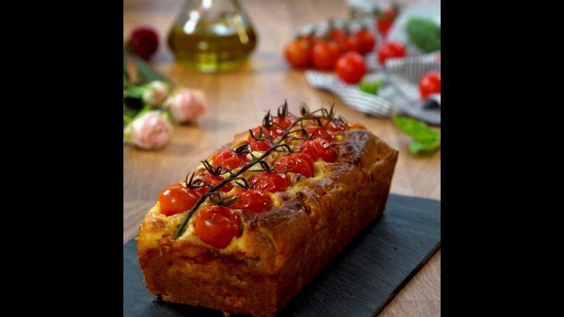 cake sal tomate mozzarella et basilic france 3 11 05 2018. Black Bedroom Furniture Sets. Home Design Ideas