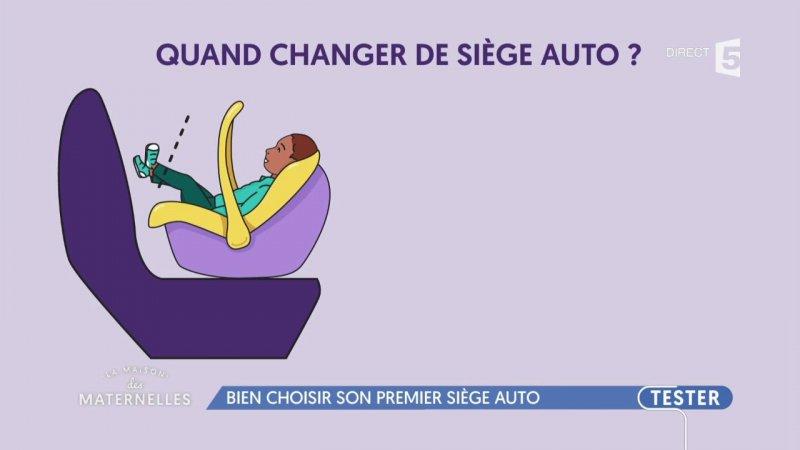 Bien choisir son premier si ge auto france 5 24 10 2017 for Choisir son siege auto