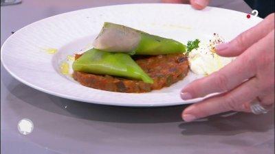 Samoussas de feuilles de poireaux la viande france 2 - C est au programme recettes cuisine france 2 ...