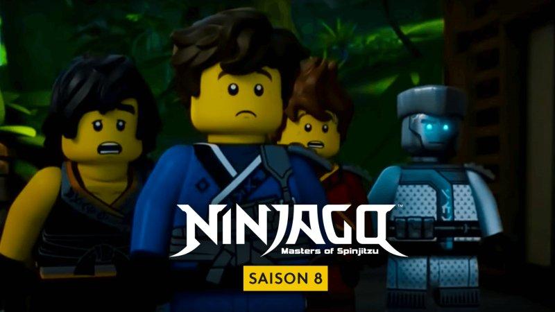 Ninjago saison 8 dessin animé