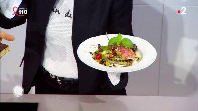 Focaccia au rouget et aux olives noires france 2 23 03 - C est au programme recettes cuisine france 2 ...
