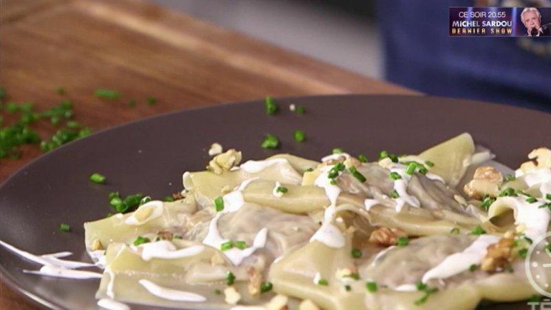 Gourmand ravioli de champignons france 2 21 10 2017 - Recette cuisine telematin carinne teyssandier ...